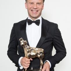 Peter Paul Muller wint een Gouden Kalf