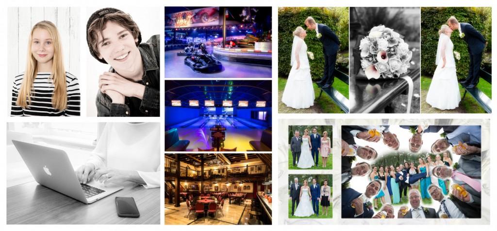 portretfoto reportage bedrijfsfeest huwelijk trouwen bruiloft greenscreen
