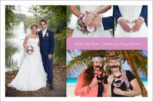 Green Screen Bruiloft fotobooth huwelijk feestavond